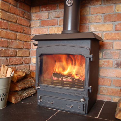 Woodwarm 6kw Fireview