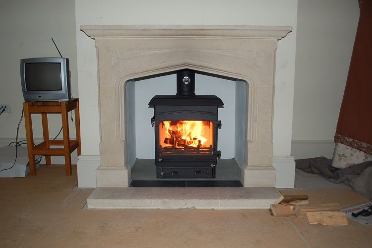 Woodwarm 5kw Fireview