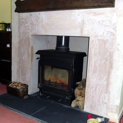 Woodwarm Fireview 10kw Multifuel Stove