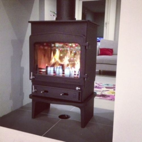 Woodwarm Fireview double sided 6kw